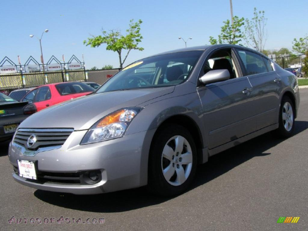 2008 Nissan Altima 2 5 S In Precision Gray Metallic