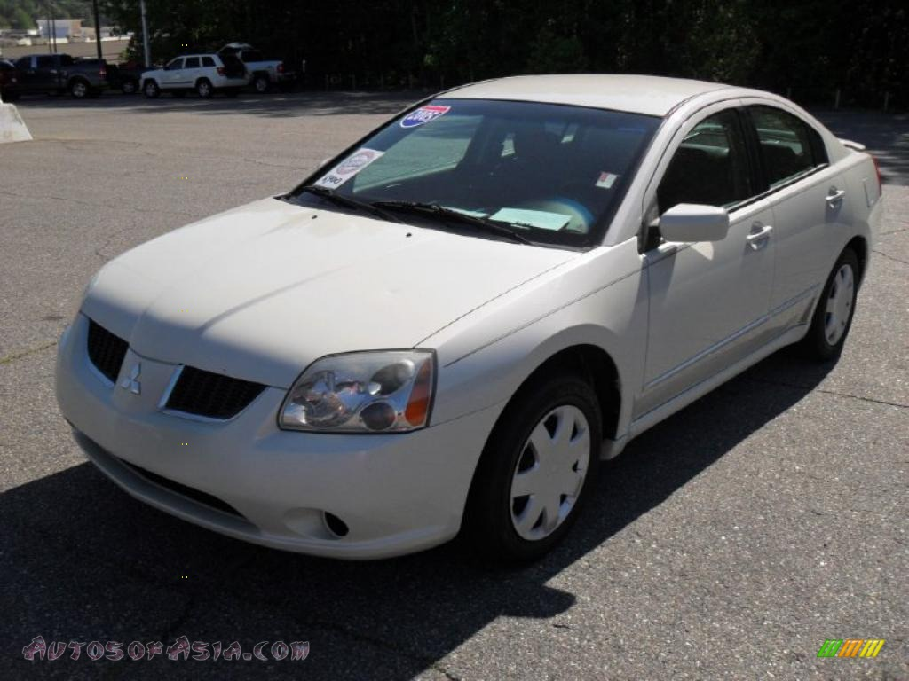2005 mitsubishi galant es in dover white pearl 047487 autos of asia japanese and korean. Black Bedroom Furniture Sets. Home Design Ideas