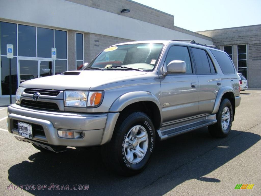 2002 toyota 4runner sport edition 4x4 in thunder cloud metallic 380712 autos of asia. Black Bedroom Furniture Sets. Home Design Ideas