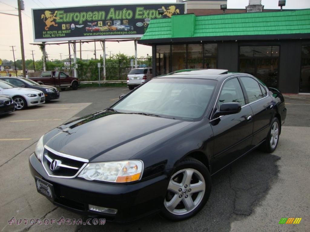 2003 Acura Tl 3 2 Type S In Nighthawk Black Pearl 008726 Autos Of Asia Japanese And Korean Cars For Sale In The Us