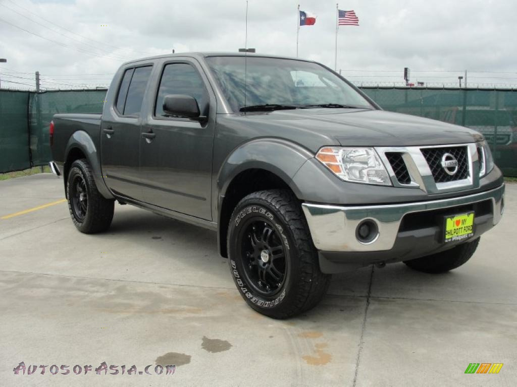 2009 nissan frontier se crew cab 4x4 in storm gray 408499 autos of asia japanese and. Black Bedroom Furniture Sets. Home Design Ideas