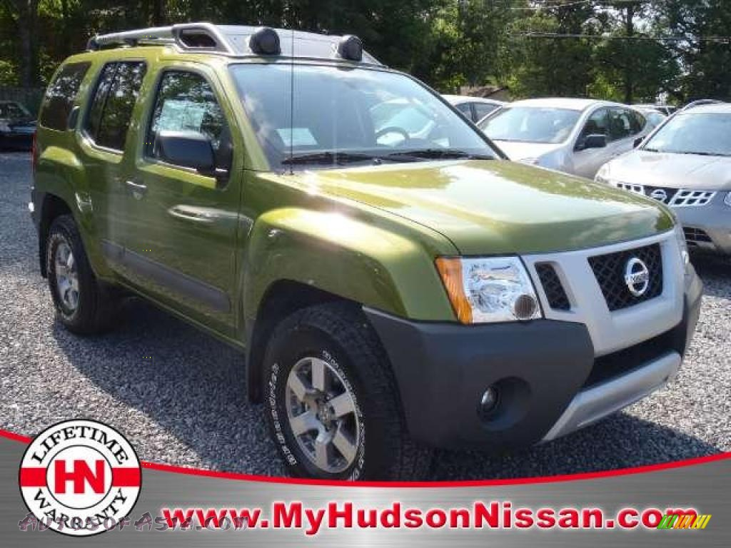 2011 nissan xterra pro 4x 4x4 in metallic green 516785 autos of asia japanese and korean. Black Bedroom Furniture Sets. Home Design Ideas