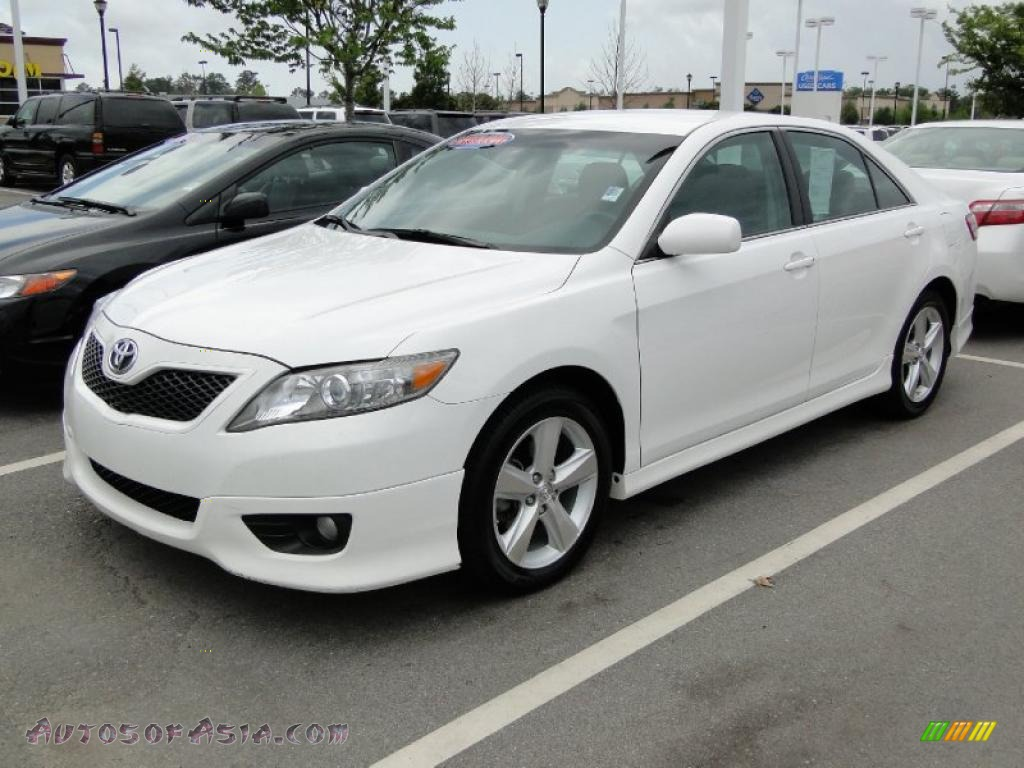 2010 Toyota Camry SE in Super White - 523862 | Autos of Asia ...