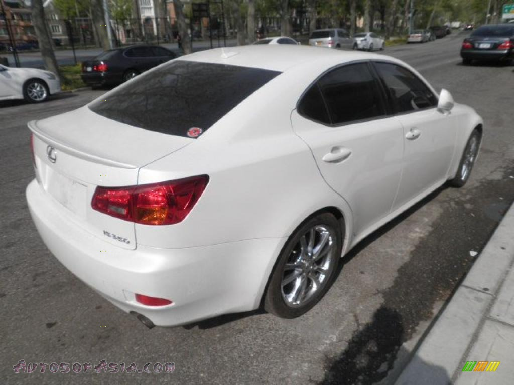 2008 lexus is 350 in starfire white pearl photo 4 017903 autos of asia japanese and. Black Bedroom Furniture Sets. Home Design Ideas