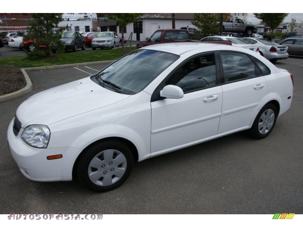 2006 Suzuki Forenza Sedan In Absolute White 253913