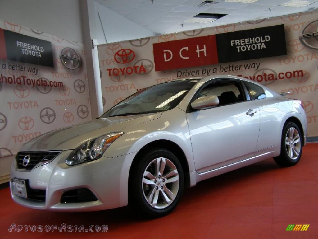 2010 Nissan Altima 2 5 S Coupe In Radiant Silver 120150 Autos Of Asia Japanese And Korean