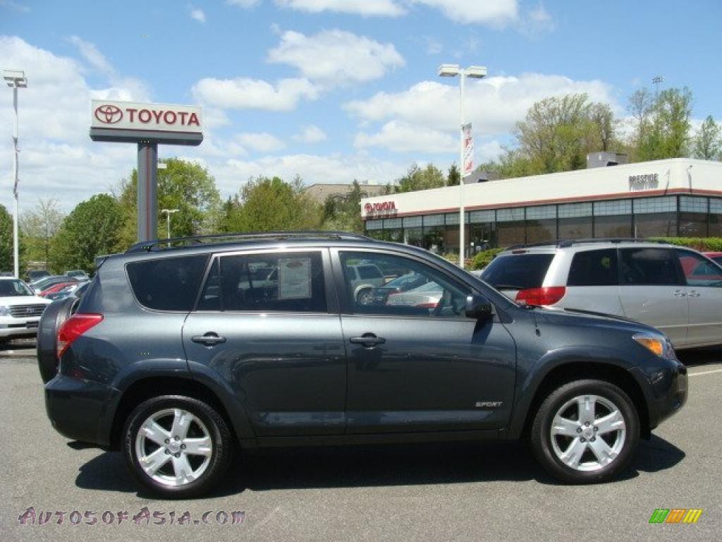 2008 Toyota Rav4 Sport 4wd In Flint Mica 079229 Autos