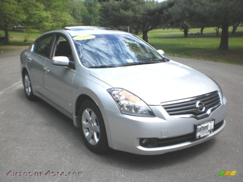 2008 nissan altima 3 5 sl in radiant silver metallic. Black Bedroom Furniture Sets. Home Design Ideas