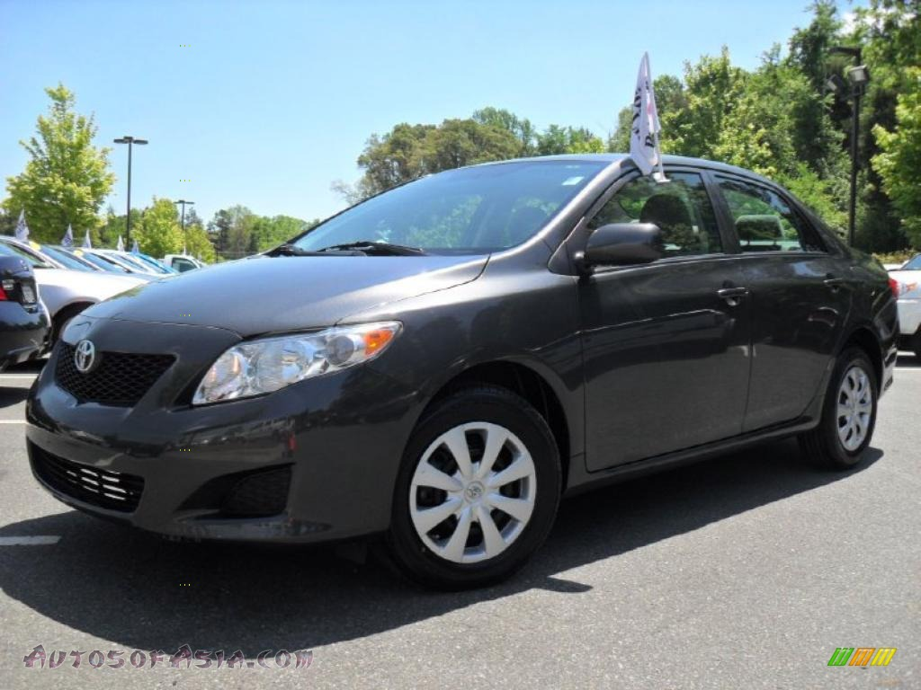 2010 toyota corolla le in magnetic gray metallic 287785 autos of asia japanese and korean. Black Bedroom Furniture Sets. Home Design Ideas