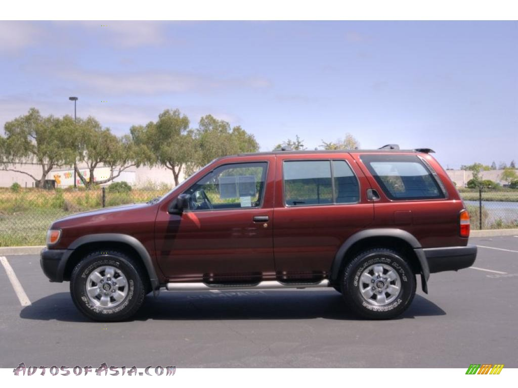 1998 nissan pathfinder se 4x4 in red pearl metallic photo. Black Bedroom Furniture Sets. Home Design Ideas