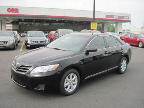 toyota camry 2011 black. Black 2011 Toyota Camry LE