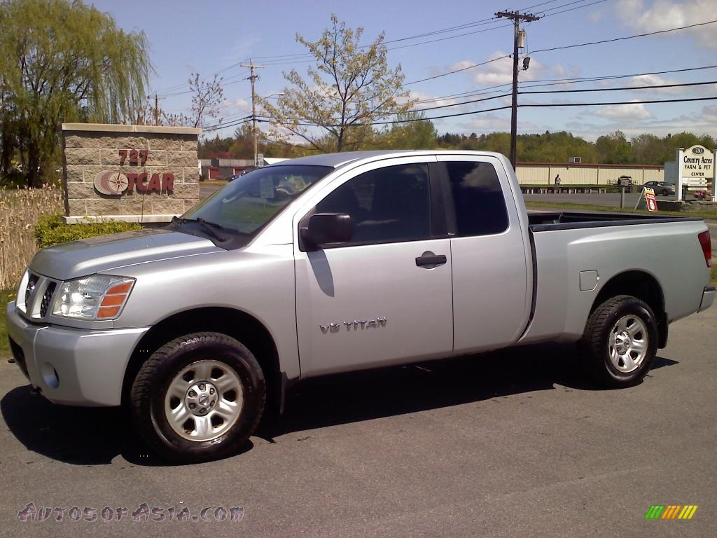 2005 nissan titan xe king cab 4x4 in radiant silver 531764 autos of asia japanese and. Black Bedroom Furniture Sets. Home Design Ideas