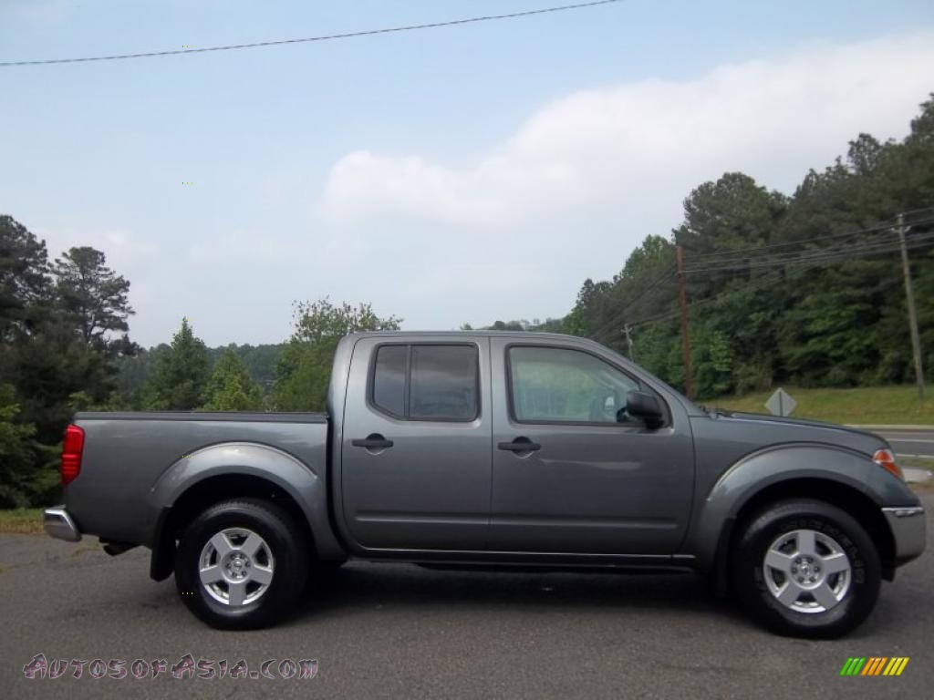 2006 nissan frontier se crew cab 4x4 in storm gray 469964 autos of asia japanese and. Black Bedroom Furniture Sets. Home Design Ideas