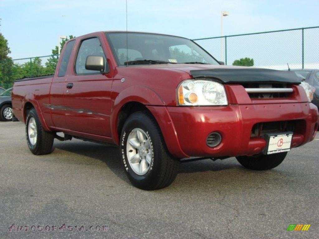2002 Nissan Frontier Xe King Cab In Molten Lava Red Pearl 360435 Autos Of Asia Japanese