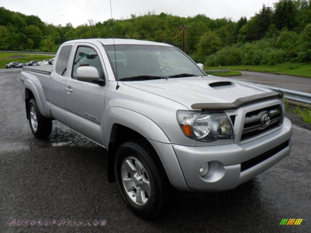 2010 toyota tacoma v6 sr5 trd sport access cab 4x4 in silver streak mica 688351 autos of. Black Bedroom Furniture Sets. Home Design Ideas