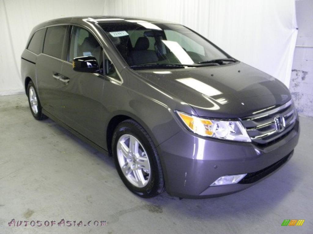 2011 Honda Odyssey Touring Elite In Smoky Topaz Metallic