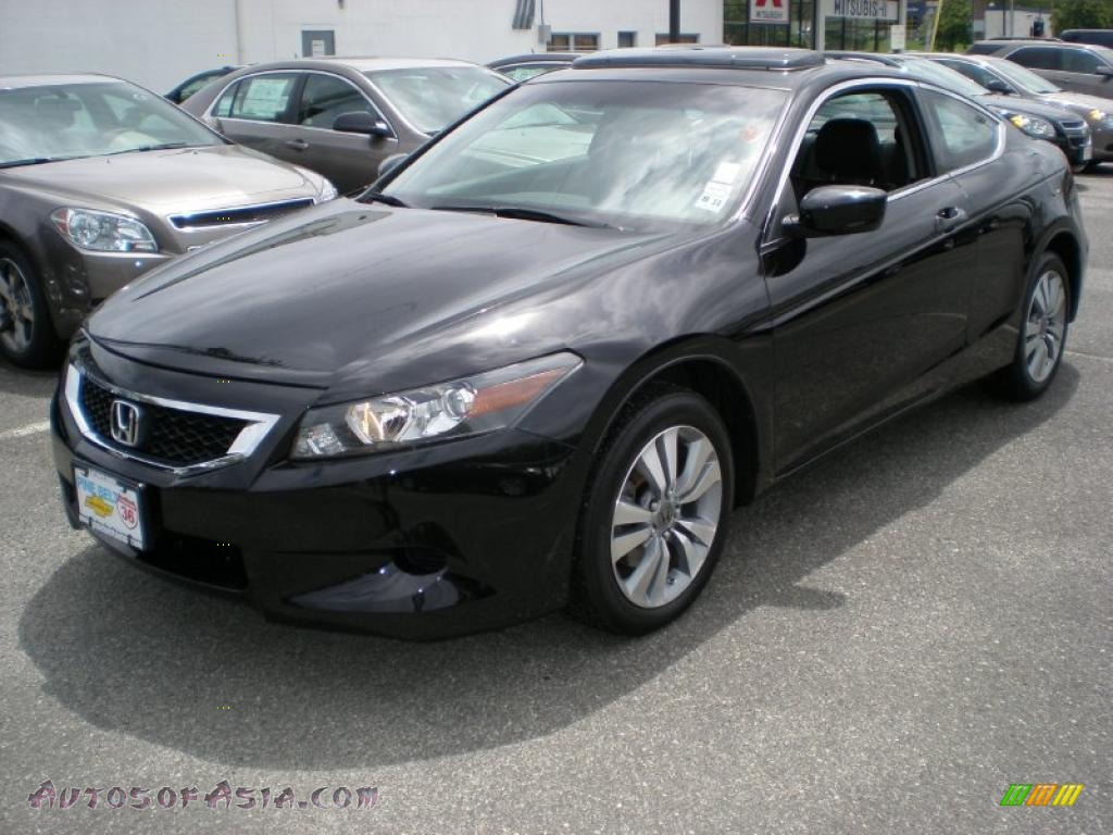 2010 honda accord ex l coupe in crystal black pearl. Black Bedroom Furniture Sets. Home Design Ideas