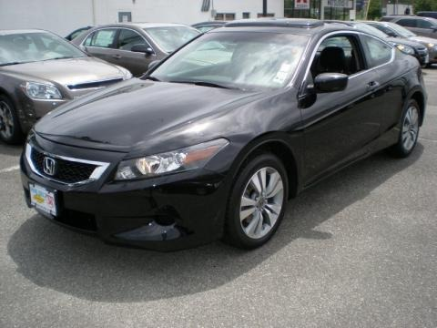 Honda Accord Coupe 2010 Black. 2010 Honda Accord EX-L Coupe