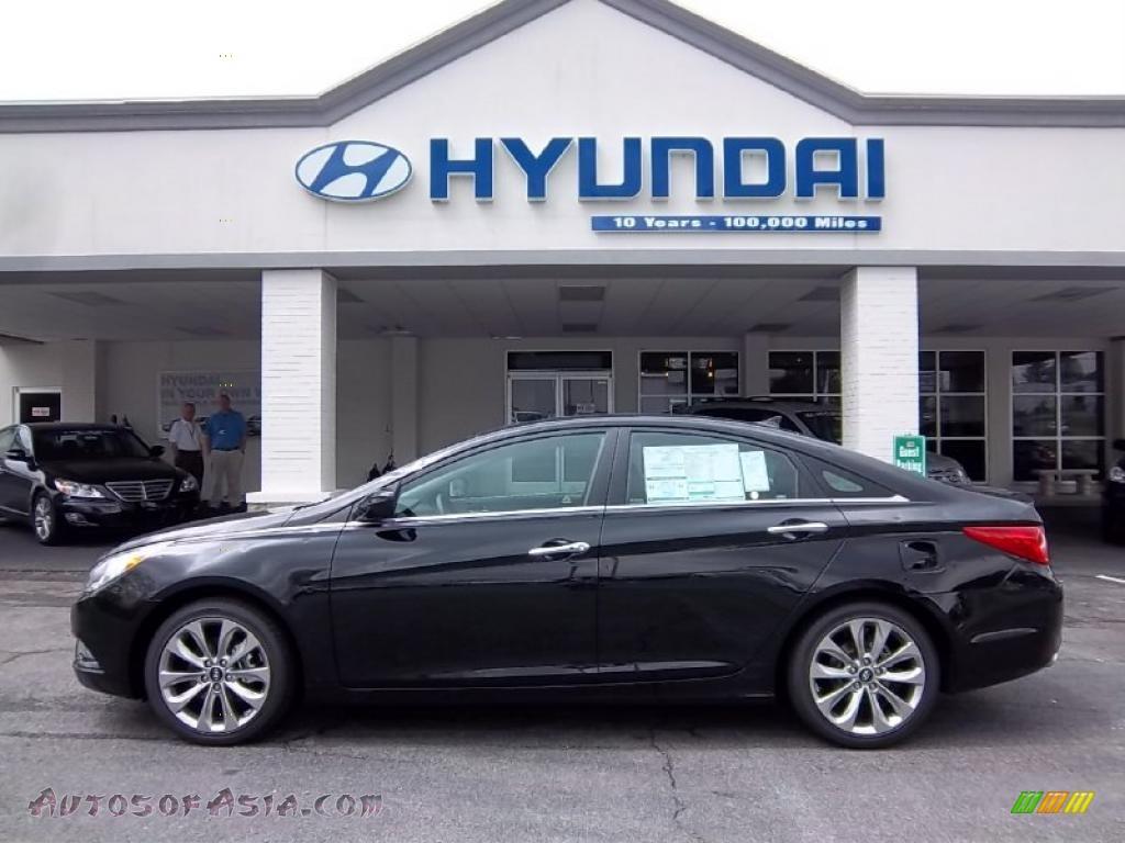 2011 Hyundai Sonata Se 2 0t In Midnight Black 277789