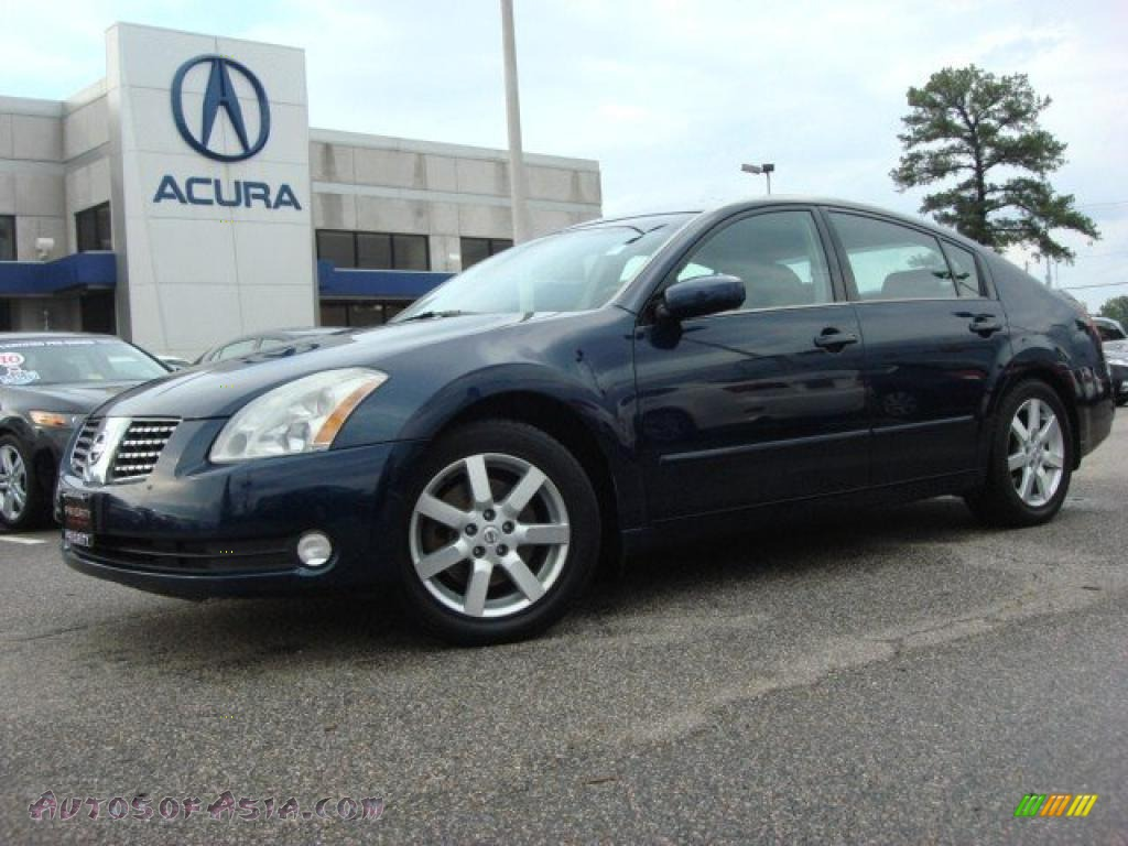 2005 nissan maxima 3 5 sl in majestic blue metallic photo. Black Bedroom Furniture Sets. Home Design Ideas