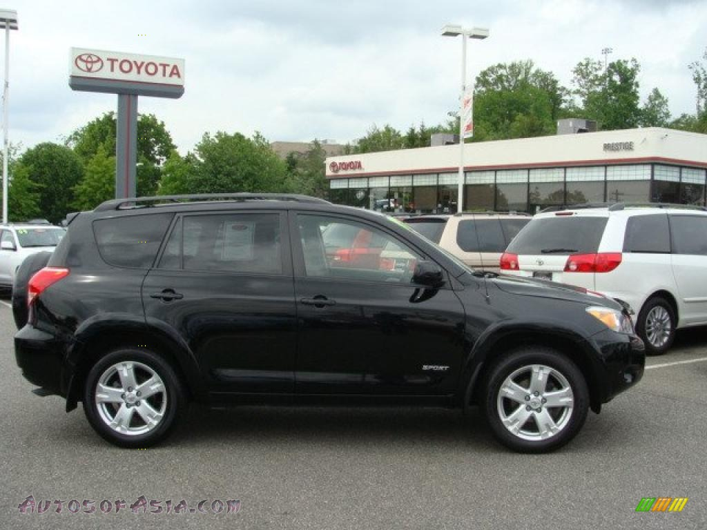 2007 toyota rav4 sport 4wd in black 032811 autos of. Black Bedroom Furniture Sets. Home Design Ideas