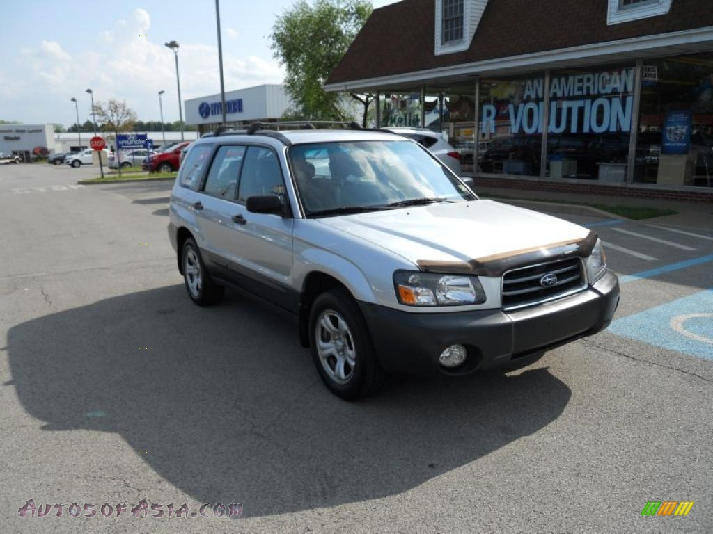 2005 subaru forester 2 5 x in platinum silver metallic 721875 autos of asia japanese and. Black Bedroom Furniture Sets. Home Design Ideas
