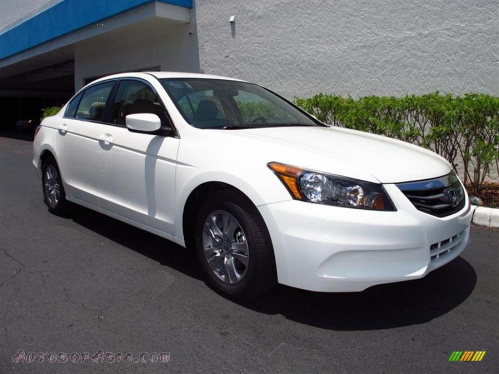 2011 Honda Accord Se Sedan In Taffeta White 127011