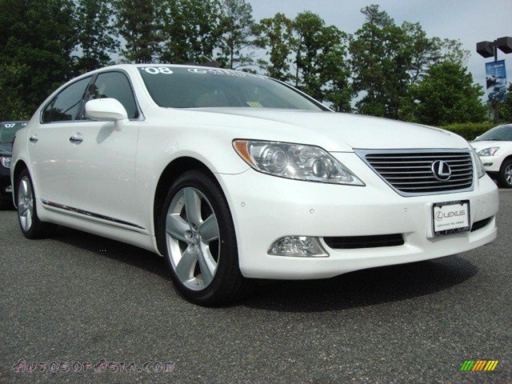 2008 lexus ls 460 l in starfire white pearl 025744. Black Bedroom Furniture Sets. Home Design Ideas