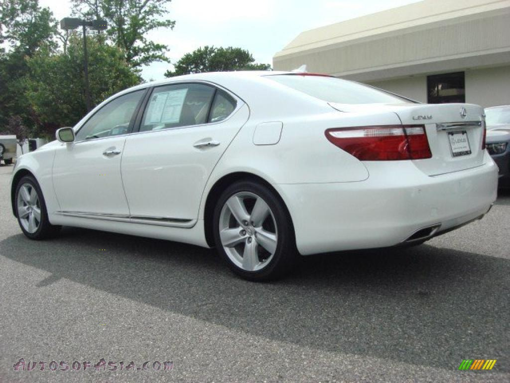 2008 lexus ls 460 l in starfire white pearl photo 5. Black Bedroom Furniture Sets. Home Design Ideas