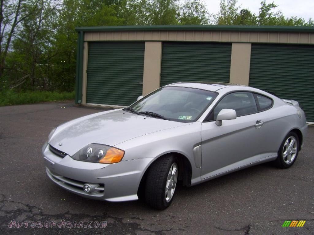2003 hyundai tiburon gt v6 in super silver 092292. Black Bedroom Furniture Sets. Home Design Ideas