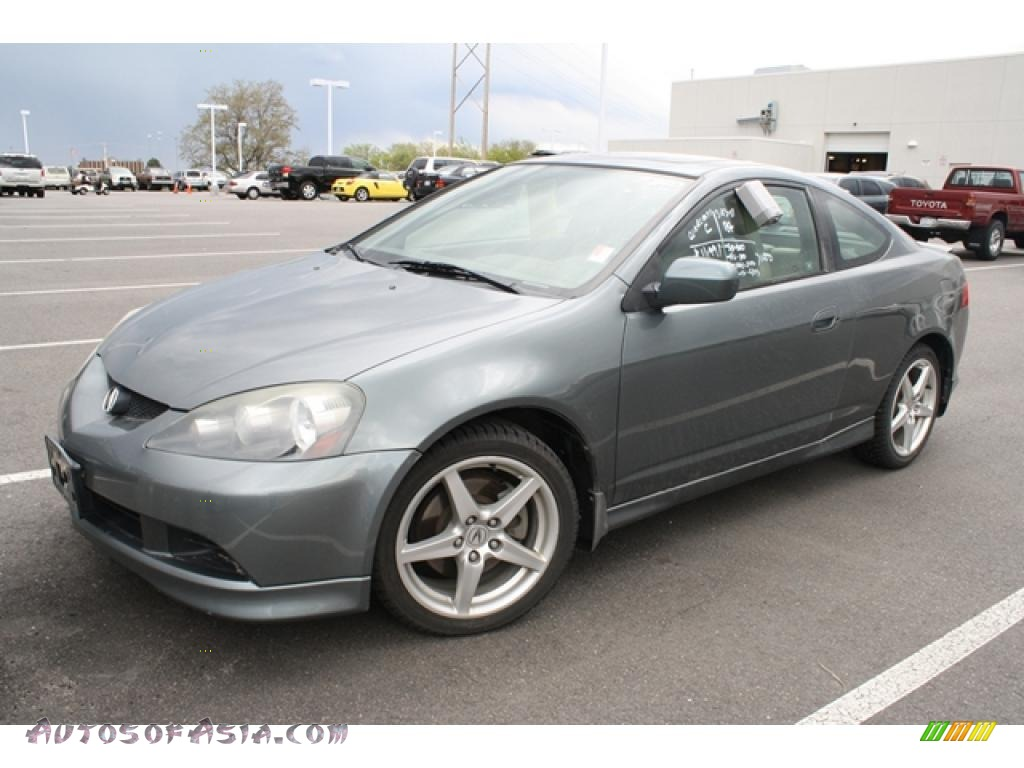 2005 Acura Rsx Type S Sports Coupe In Jade Green Metallic Photo 4
