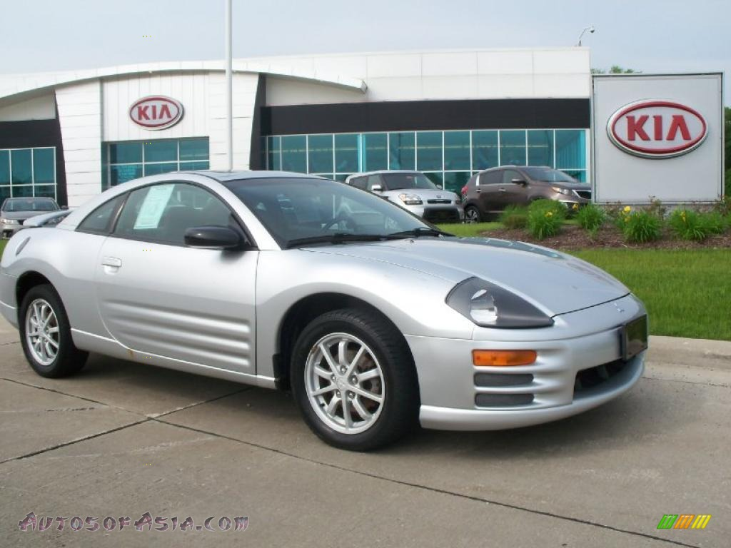 2002 Mitsubishi Eclipse GS Coupe in Sterling Silver Metallic - 060630 | Autos of Asia - Japanese ...