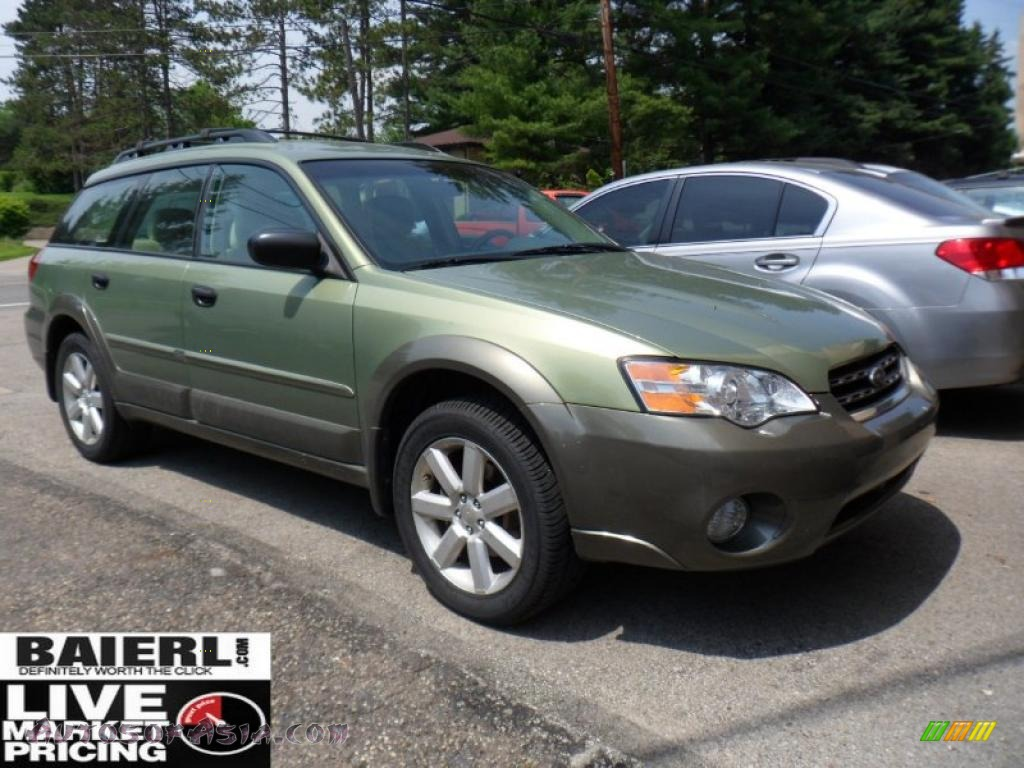 2007 subaru outback wagon in willow green opal 306848 autos of asia japanese and. Black Bedroom Furniture Sets. Home Design Ideas