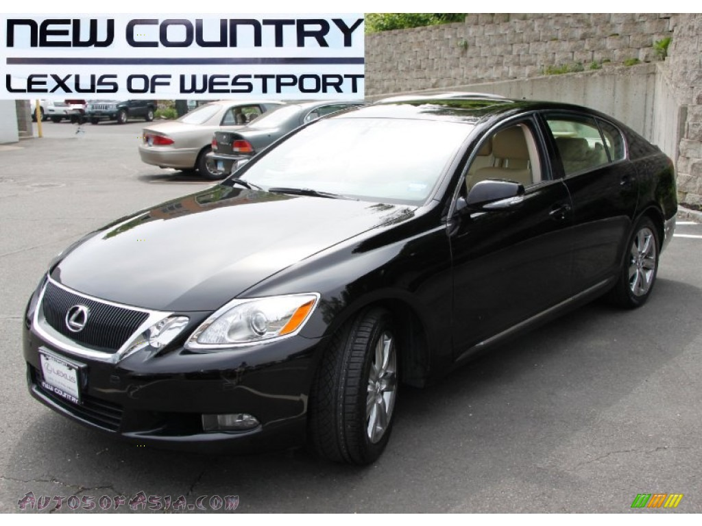2008 lexus gs 350 awd in obsidian black 018422 autos of asia japanese and korean cars for. Black Bedroom Furniture Sets. Home Design Ideas