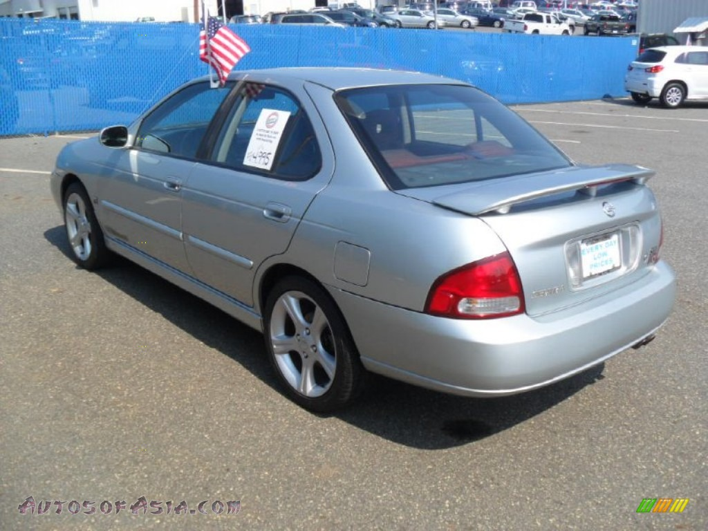 2002 nissan sentra se r spec v in molten silver photo 2 727755 autos of asia japanese and. Black Bedroom Furniture Sets. Home Design Ideas
