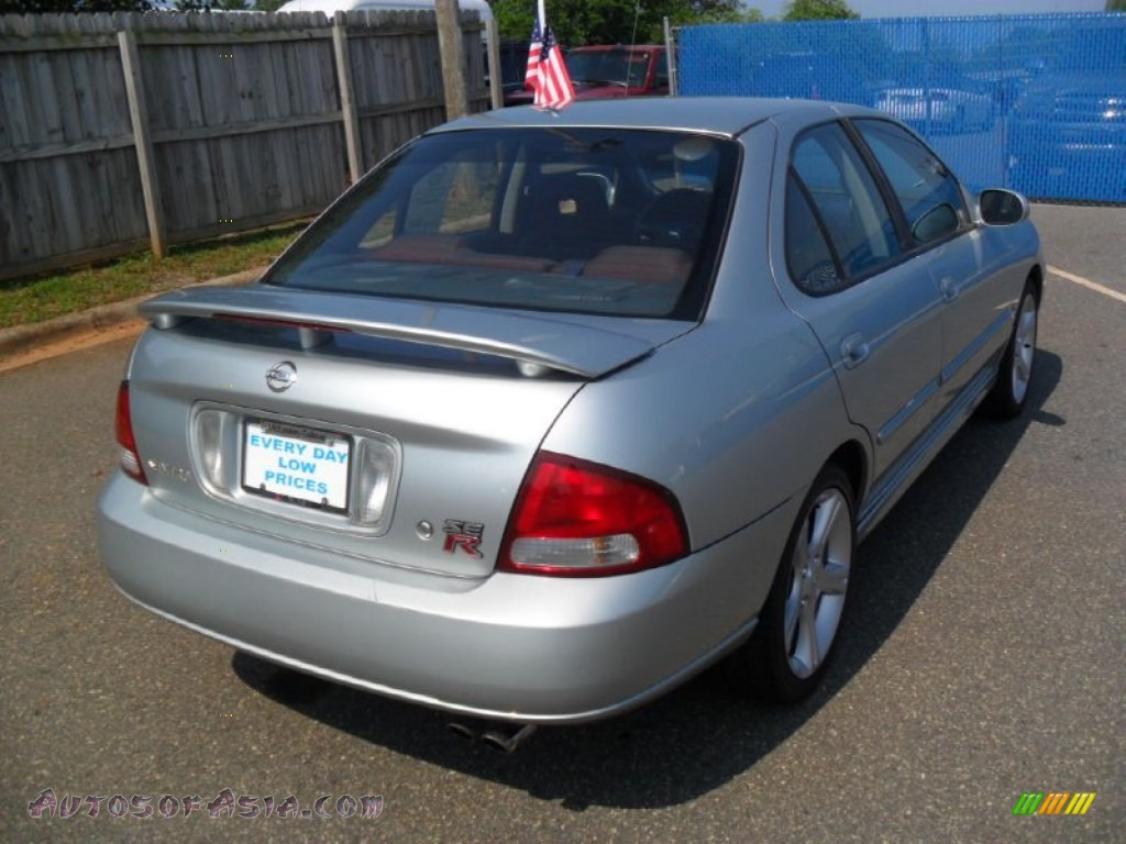 2002 nissan sentra se r spec v in molten silver photo 3 727755 autos of asia japanese and. Black Bedroom Furniture Sets. Home Design Ideas