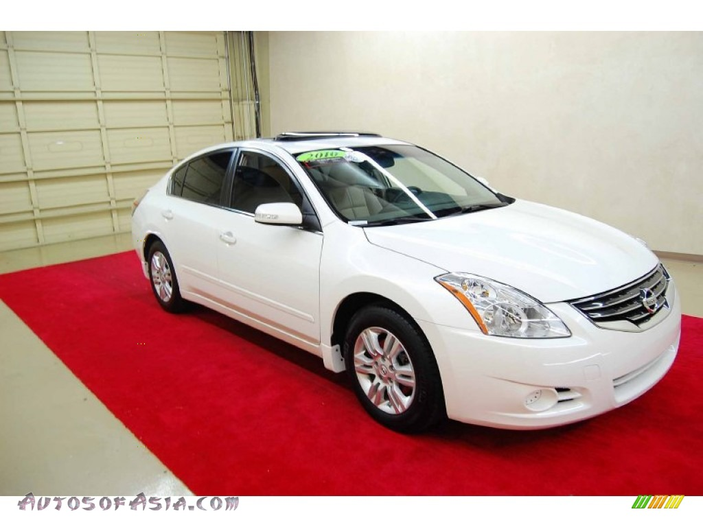 2010 nissan altima 2 5 sl in winter frost white 546848 autos of asia japanese and korean. Black Bedroom Furniture Sets. Home Design Ideas