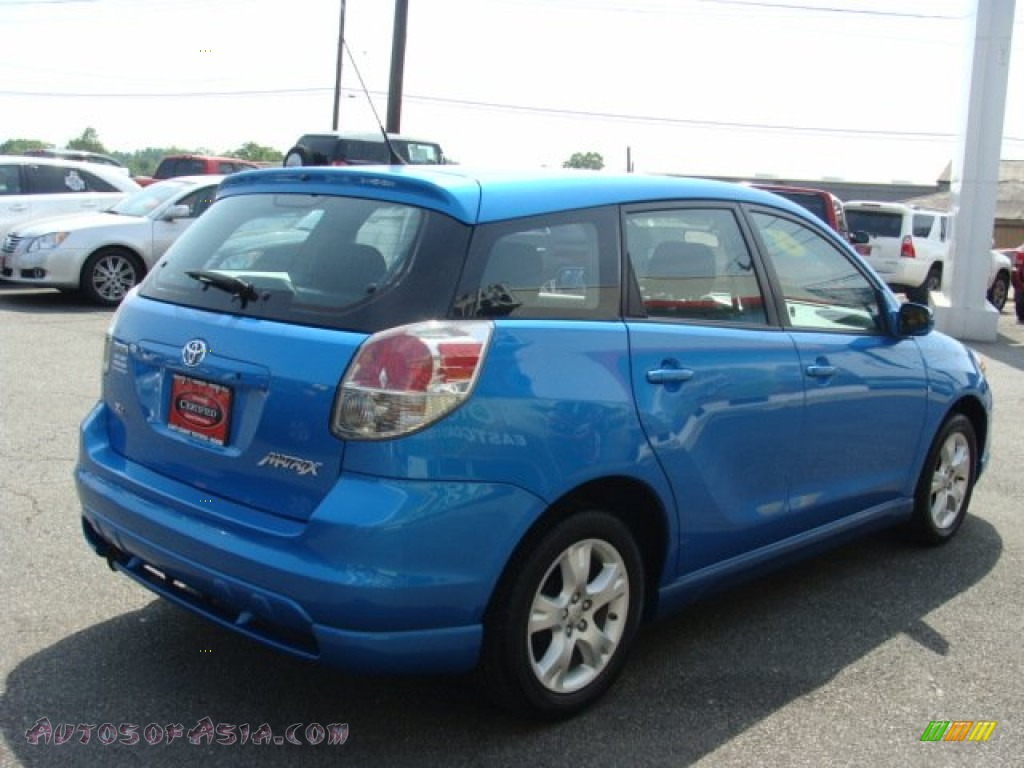 2008 toyota matrix xr in speedway blue photo 4 718393 autos of asia japanese and korean. Black Bedroom Furniture Sets. Home Design Ideas