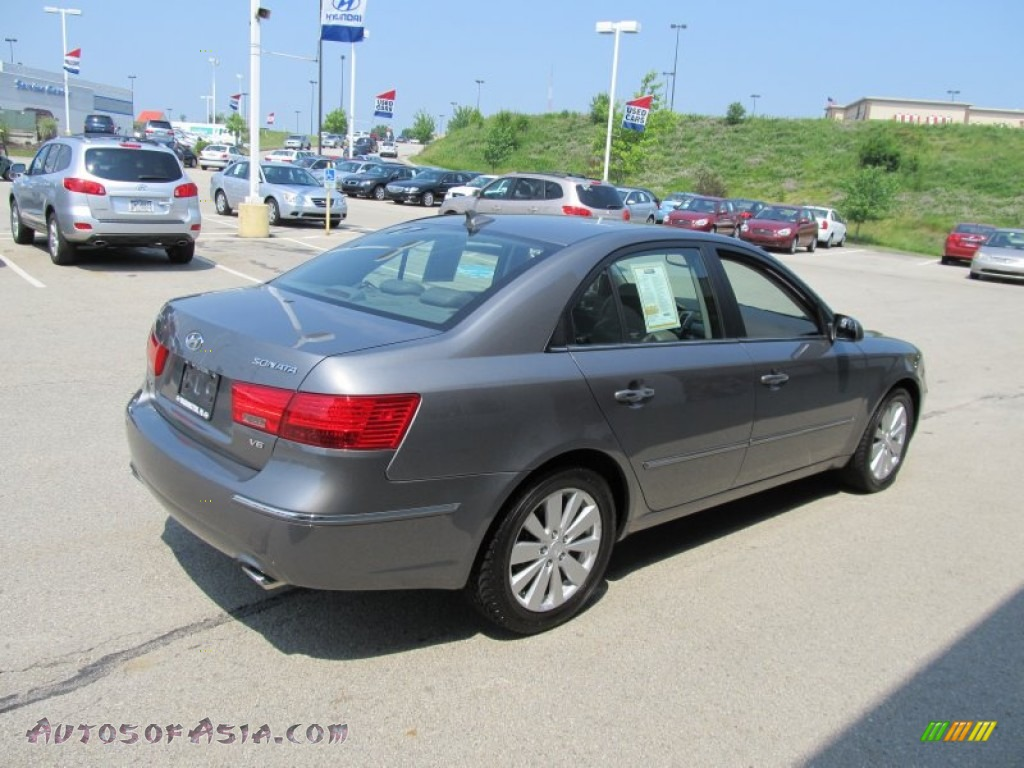 2009 hyundai sonata limited v6 in willow gray photo 8 544697 autos of asia japanese and. Black Bedroom Furniture Sets. Home Design Ideas