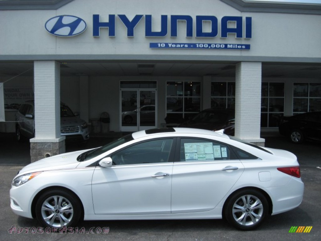 2011 Hyundai Sonata Limited 2 0t In Porcelain White Pearl