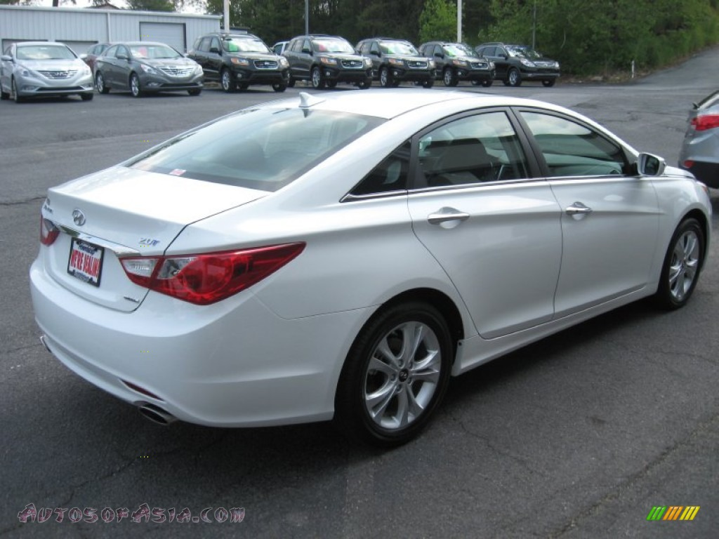 2011 hyundai sonata limited 2 0t in porcelain white pearl photo 6 305614 autos of asia. Black Bedroom Furniture Sets. Home Design Ideas