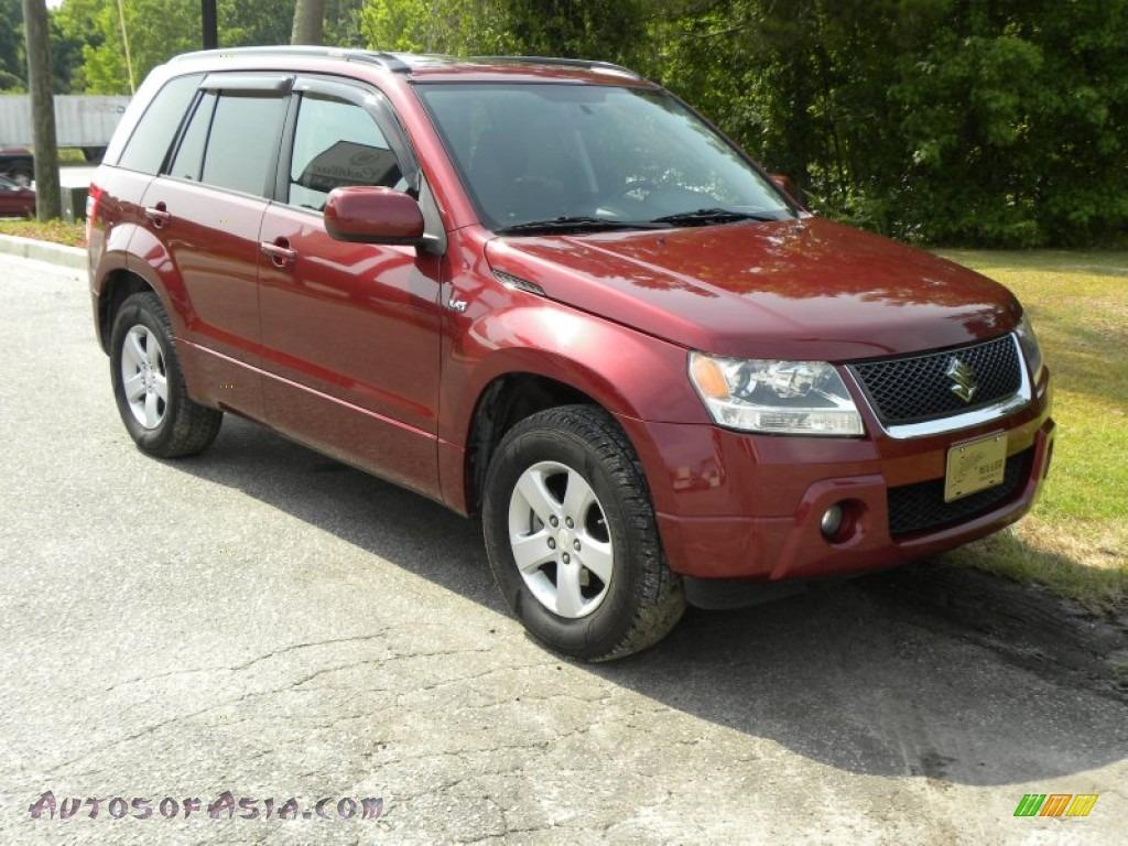 2007 Suzuki Grand Vitara Xsport In Shining Red Pearl