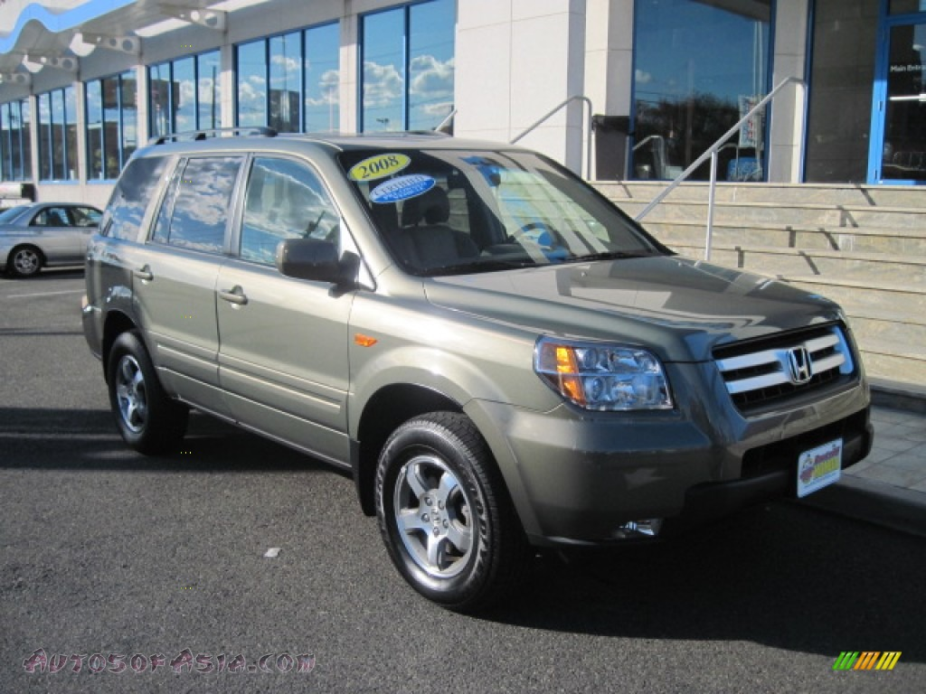 2008 Honda Pilot Ex L 4wd In Aberdeen Green Metallic