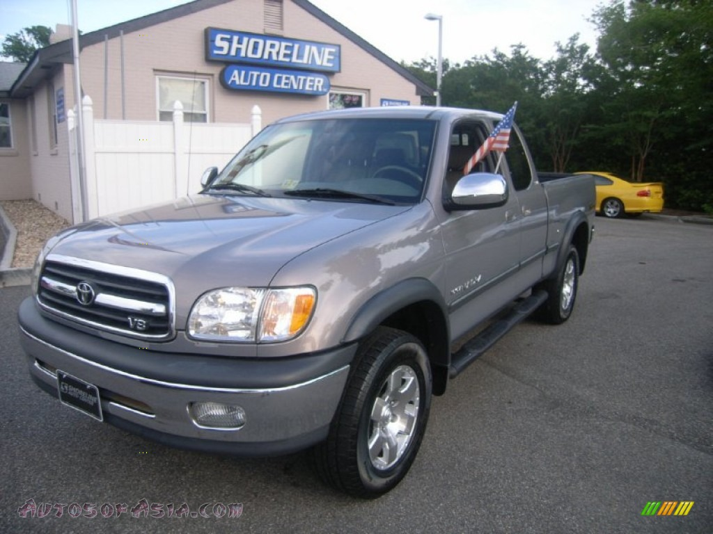 2002 toyota tundra sr5 trd access cab 4x4 in thunder gray metallic 303744 autos of asia. Black Bedroom Furniture Sets. Home Design Ideas