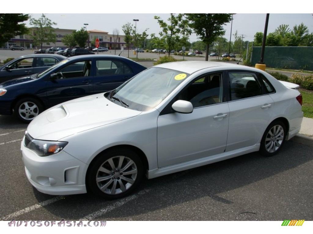 2008 Subaru Impreza Wrx Sedan In Satin White Pearl