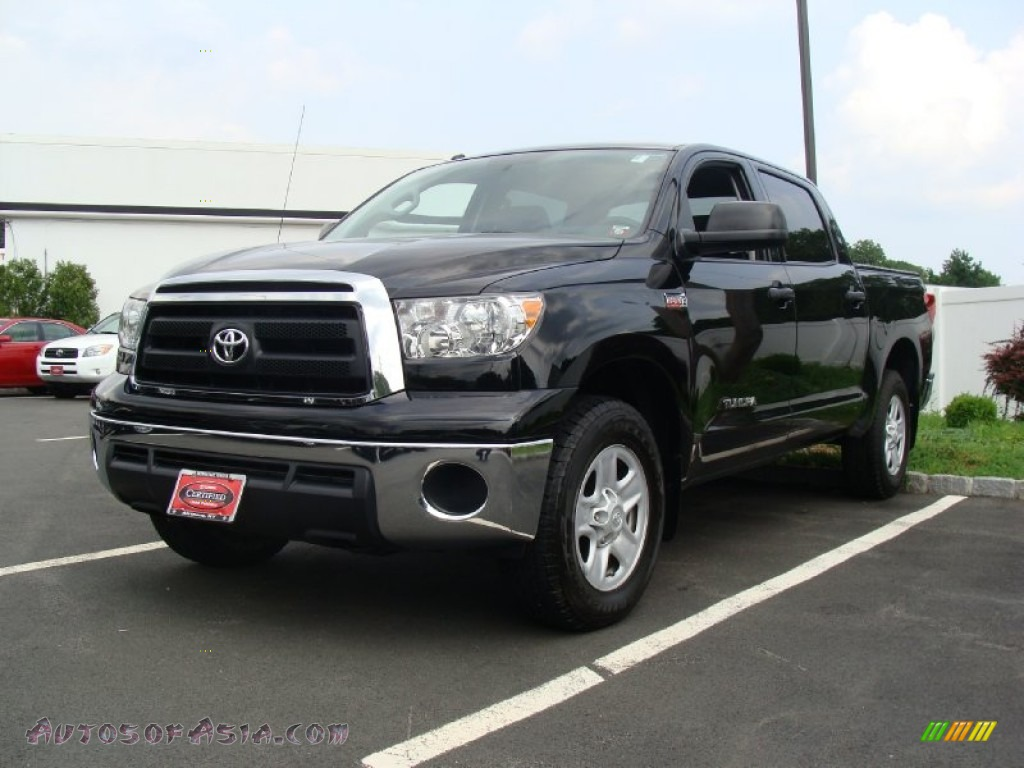 2010 toyota tundra crewmax 4x4 in black 124946 autos of asia japanese and korean cars for. Black Bedroom Furniture Sets. Home Design Ideas