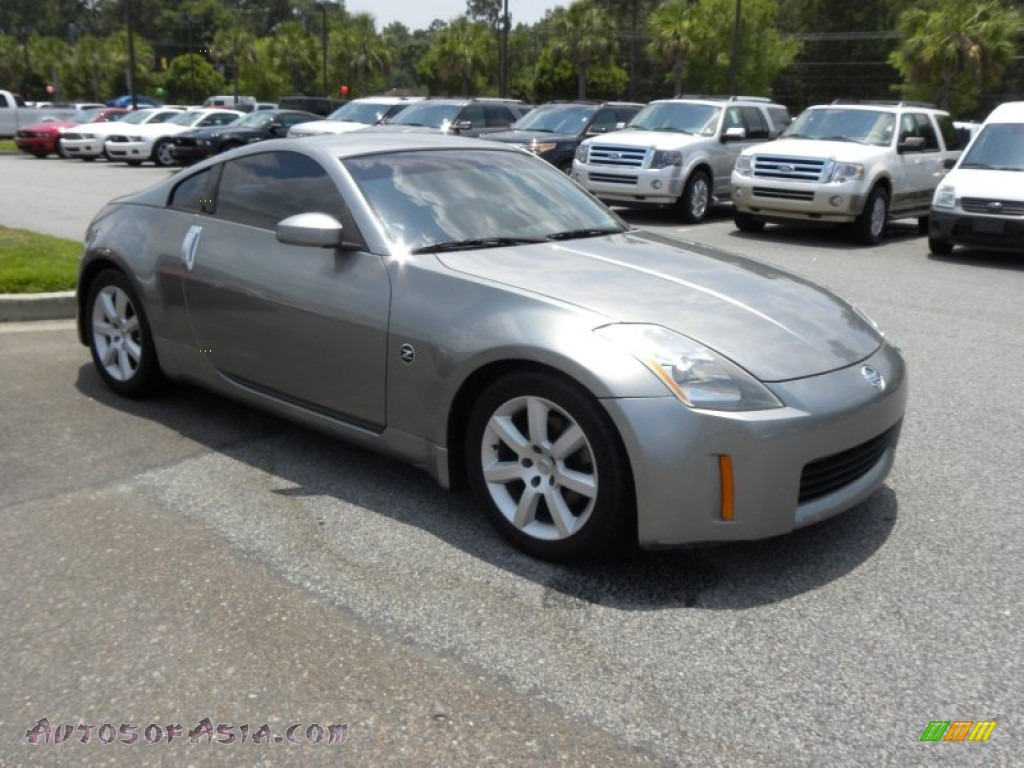 2004 Nissan 350z Touring Coupe In Silverstone Metallic 153633 Autos Of Asia Japanese And