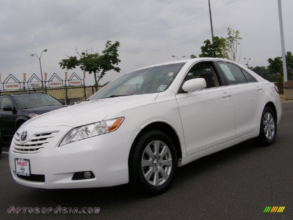 toyota camry 2007 white. super white ash toyota camry xle 2007 o