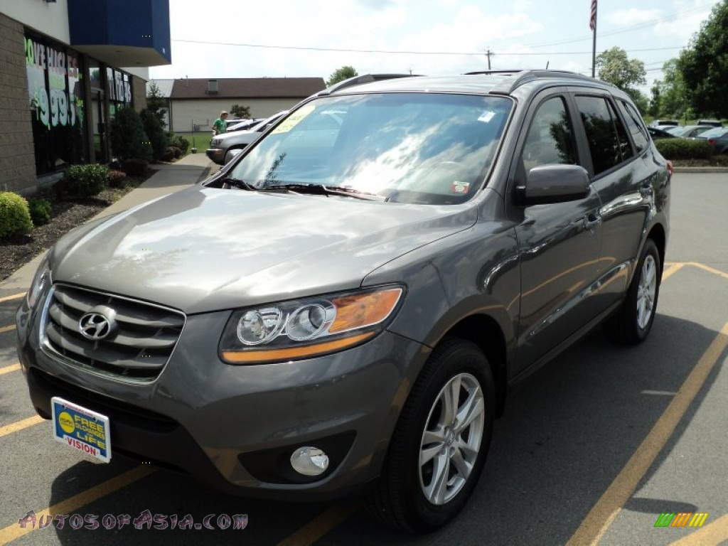 2010 hyundai santa fe se in harbor gray metallic 408676 autos of asia japanese and korean. Black Bedroom Furniture Sets. Home Design Ideas