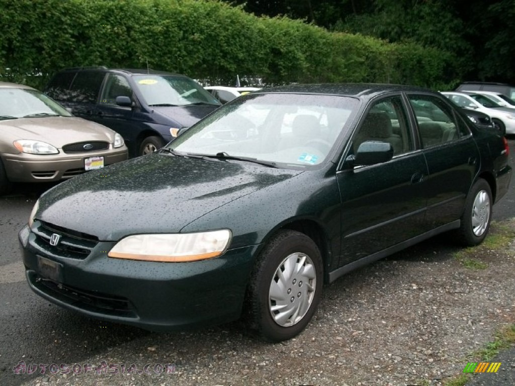 2000 Honda Accord Lx V6 Sedan In Dark Emerald Pearl